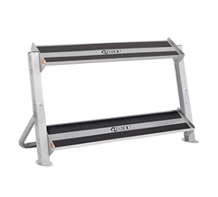 Hoist 5461 48 Inch 2-Tier Horizontal Dumbbell Rack