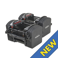 PowerBlock Pro EXP Stage 1 Set, 5-50 lbs