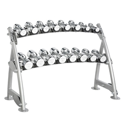 Hoist CF 2-Tier Beauty Bell Dumbbell Rack